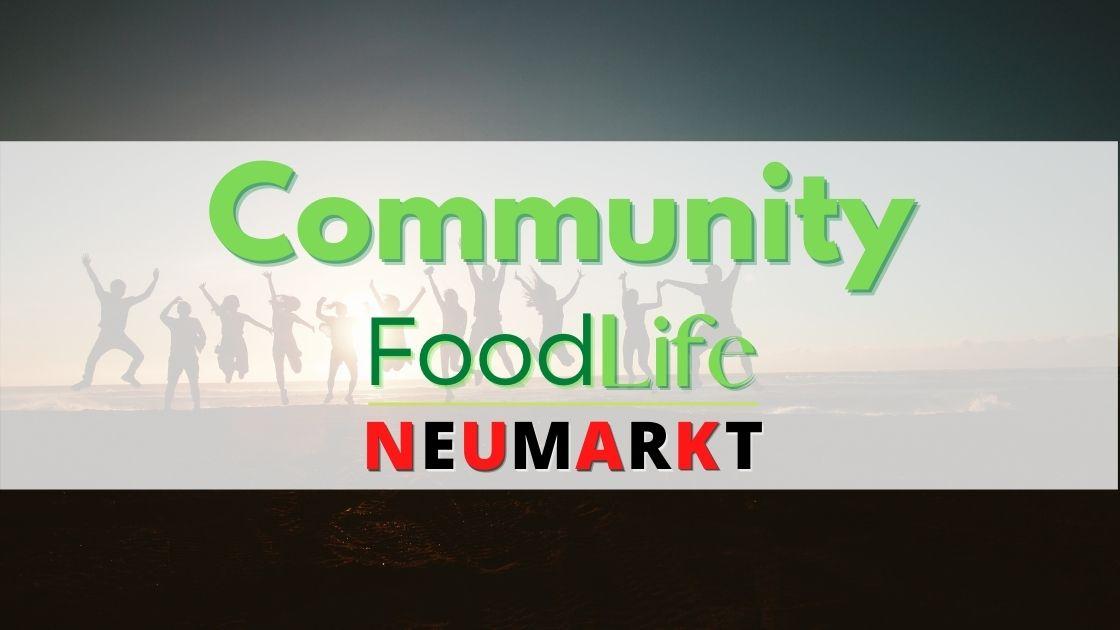 Community FoodLife Neumarkt Banner