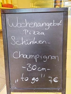 Resataurant Neumarkt Pastamissimo Essen Aktion