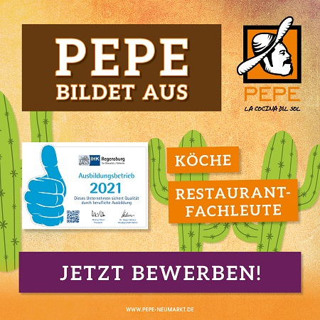 Restaurant Neumarkt Pepe Ausbildung