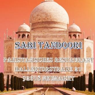 Indische Pakistanisch Restaurant Sabi Tandoori Neumarkt