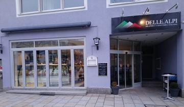 Eiscafe DELLE ALPI Restaurant Neumarkt Location